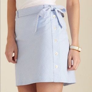 Vineyard Vines Seersucker Skirt Size 4